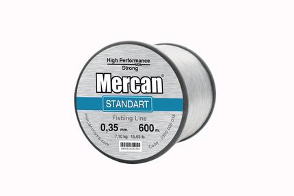 Mercan Standart <b>BEYAZ</b> Bobin Makara Misina - Thumbnail