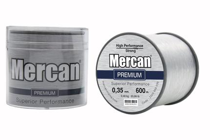 Mercan Premium <b>BEYAZ</b> Bobin Makara Misina - Thumbnail
