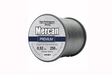 Mercan Premium <b>KOYU GRİ</b> Bobin Makara Misina - Thumbnail