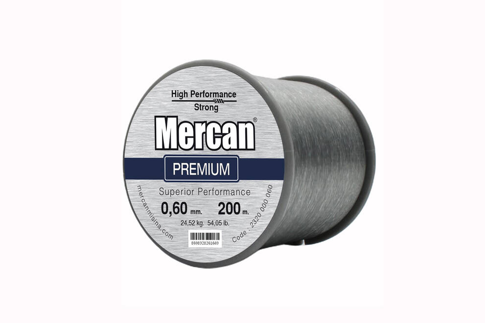 Mercan Premium <b>KOYU GRİ</b> Bobin Makara Misina