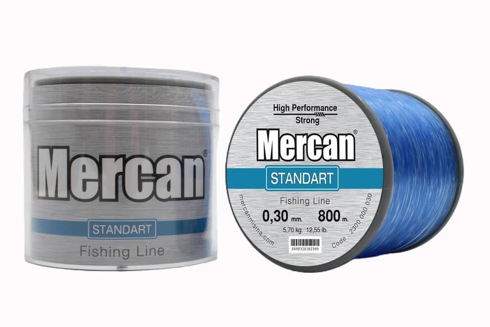 Mercan Standart <b>MAVİ</b> Bobin Makara Misina