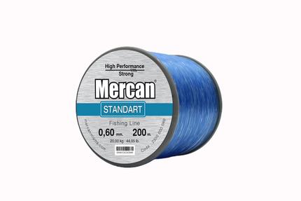 Mercan Standart <b>MAVİ</b> Bobin Makara Misina - Thumbnail