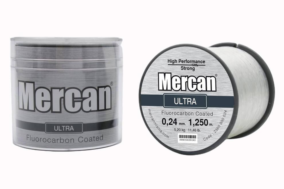 Mercan Ultra <b>BEYAZ</b> Bobin Makara Misina